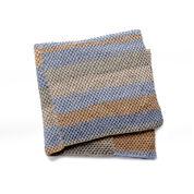 Caron Paneled Knit Afghan