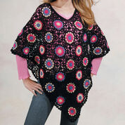 Go to Product: Red Heart Granny Poncho in color