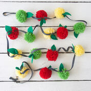 Go to Product: Red Heart Pompom Apple Garland in color