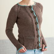 Go to Product: Patons Hidden Pocket Steeked Knit Cardigan , XS in color