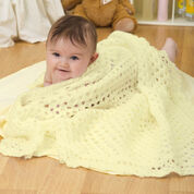 Red Heart Sunshine Baby Blanket