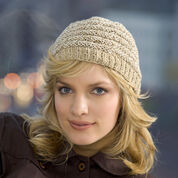 Red Heart Welted Cap, S
