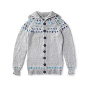 Go to Product: Red Heart Fair Isle Sweater Coat, XS in color