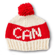 Go to Product: Bernat State Your Nation Knit Hat, 2 Color in color