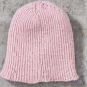 Go to Product: Red Heart Ribbed Beanie, Man in color