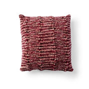 Bernat Cozy Cabled Knit Pillow