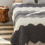 Bernat Grey Scale Blanket