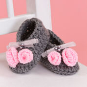 Go to Product: Red Heart Little Miss Booties in color