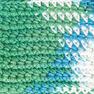 Bernat Handicrafter Cotton Ombres Yarn, Emerald Energy Ombre in color Emerald Energy Ombre
