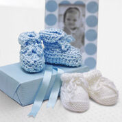 Go to Product: Bernat Baby Shower Booties in color