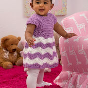 Go to Product: Red Heart Chevron Chic Baby Dress , 3 mos in color