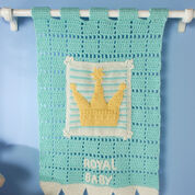 Red Heart Royal Heir Wall Hanging