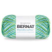 Bernat Handicrafter Cotton Variegates Yarn, Emerald Energy Ombre - Clearance Shades*