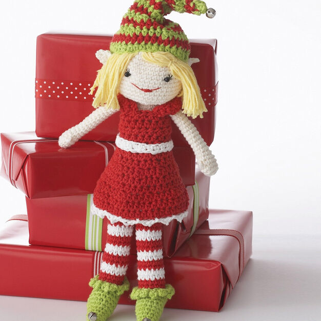 Lily Sugar 'n Cream Lily the Christmas Elf Doll in color