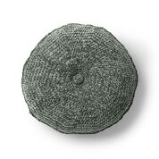 Go to Product: Bernat Tufted Crochet Pillow, Smokey Green in color
