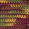 Lily Sugar'n Cream Cone Yarn (400g/14 oz), Autumn Leaves Ombre in color Autumn Leaves Ombre