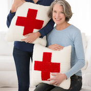 Go to Product: Red Heart Red Heart Cares Crochet Pillow in color
