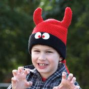 Bernat Character Hats, Bear - 2-4 yrs