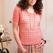 Aunt Lydia's Delicate Coral Tee, S
