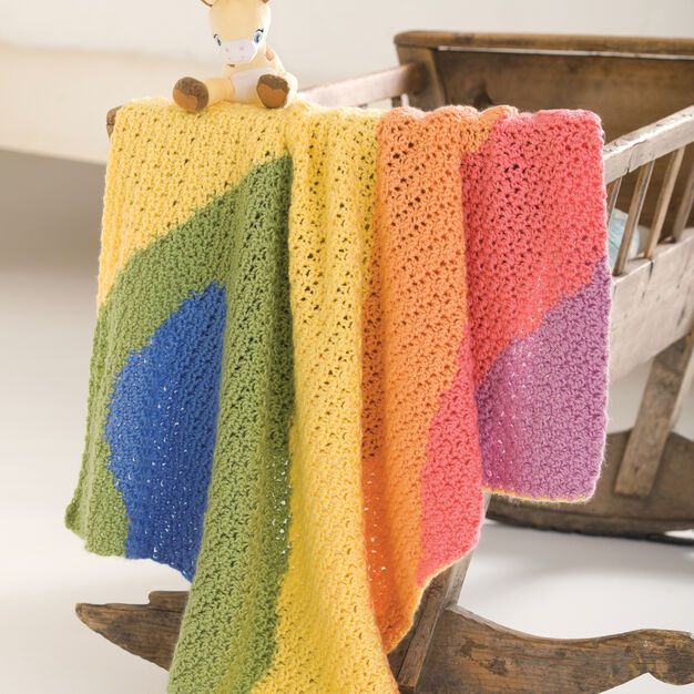 Caron Baby Waves Blanket