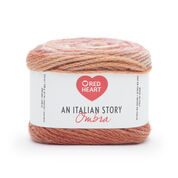 Red Heart An Italian Story Ombra Yarn, Fiamma