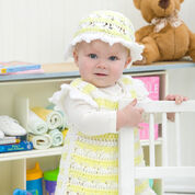 Go to Product: Red Heart Springtime Baby Dress and Hat, 6 mos in color