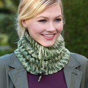 Go to Product: Red Heart Charming Camo Cowl in color