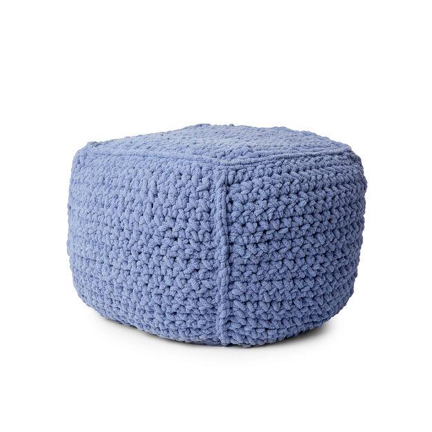 Bernat Crochet Pouf