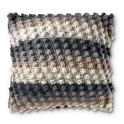 Go to Product: Caron Crochet Popcorn Pillow in color