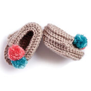 Bernat Wee Crochet Moccasins