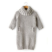 Bernat Slouchy Sweater Dress, XS/S