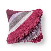 Bernat Breezy Loop Crochet Cushion