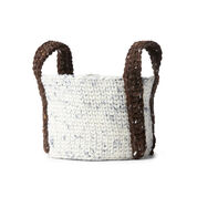 Go to Product: Bernat Crochet Round Basket in color