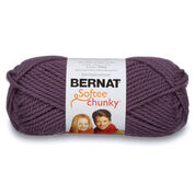 Go to Product: Bernat Softee Chunky Yarn (100g/3.5oz) in color Dark Mauve