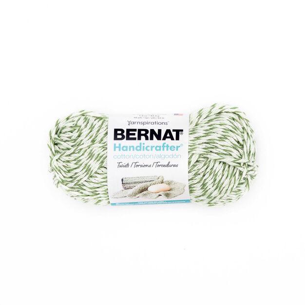 Bernat Handicrafter Cotton Twists Yarn Green Twists Yarnspirations
