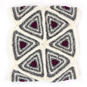 Patons Radiating Triangles Crochet Cowl