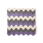 Caron Crochet Granny Ripple Blanket