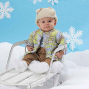 Go to Product: Bernat One Piece Baby Cardigan, 6 mos in color