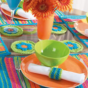 Go to Product: Bernat Striped Table Setting, Placemats - Set of 2 in color