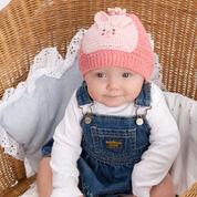 Aunt Lydia's Bunny Hat & Booties