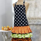 Go to Product: Dual Duty Ruffled Halloween Party Apron in color