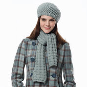 Go to Product: Bernat Scarf and Hat, Hat in color