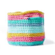 Bernat Bulky Crochet Basket