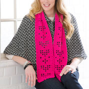 Go to Product: Red Heart Shimmery Hearts Scarf in color