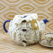 Patons Aran Sweater Tea Cozy
