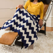 Go to Product: Red Heart Cabin Chic Chevron Throw, Super Saver in color