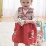 Bernat Jumper Dress, 18 mos