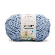 Go to Product: Bernat Baby Blanket Yarn (300g/10.5 oz) in color Baby Blue