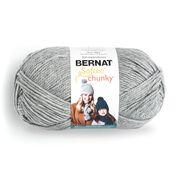 Go to Product: Bernat Softee Chunky Yarn (400g/14oz) in color Gray Heather