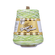 Go to Product: Lily Sugar'n Cream Cone Yarn (400g/14 oz) in color Key Lime Pie Ombre